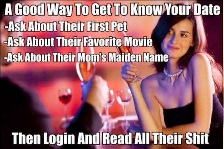 Get to know your date