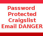 Craigslist password protected Word Document malware DANGER