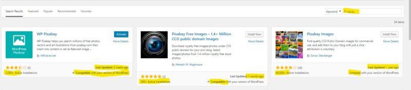 WordPress plugin choices