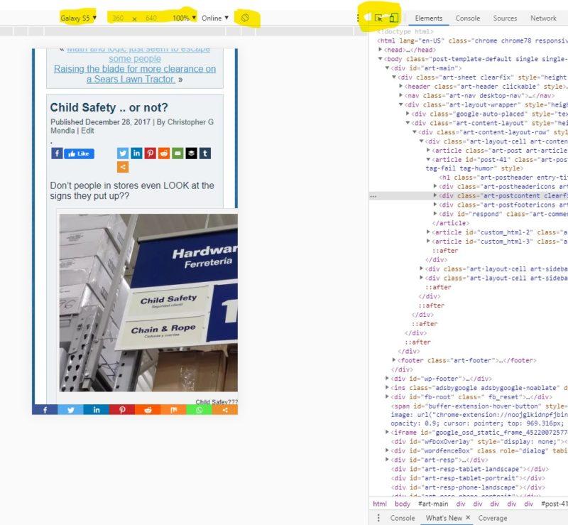 Wordpress site using Gutenberg is not mobile friendly