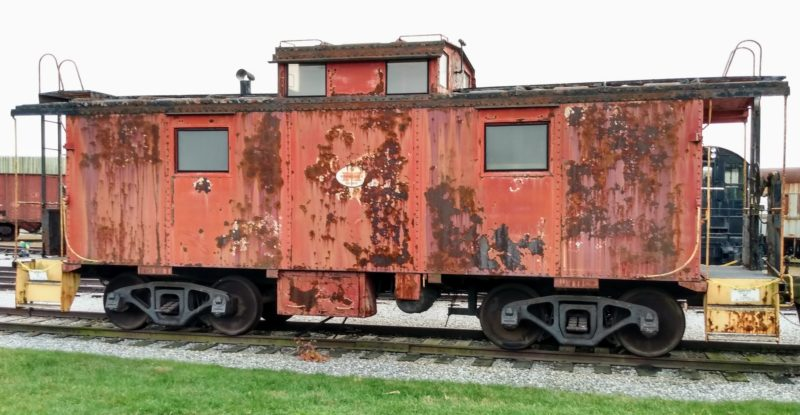 Image of a caboose