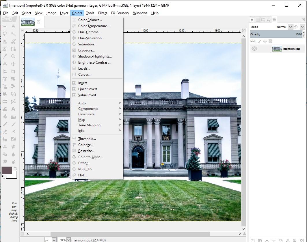 Gimp Free Photoshop alternative